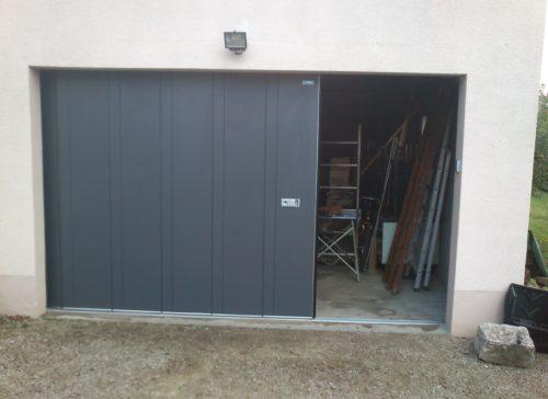 Web porte de garage laterale